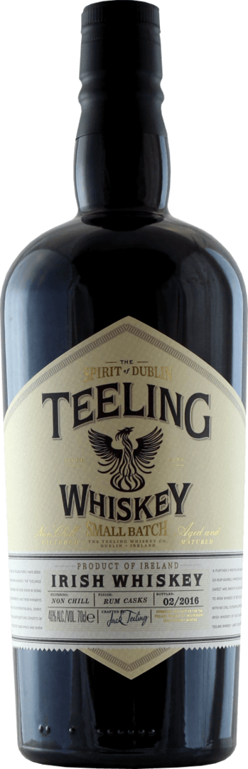 TEELING SMALL BATCH BLENDED WHISKEY | 46% - 70cL