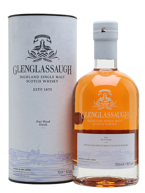 GLENGLASSAUGH Port Wood Finish |46 % - 70 cl